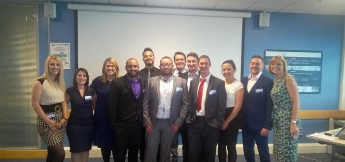 Aspire Development Celebrates Apprenticeship Success With Logistics Giant Wincanton.