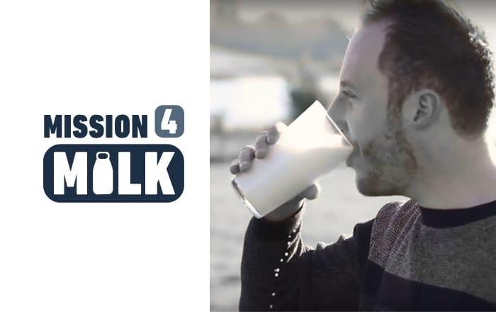 Take Part In Mission 4 Milk's #MilkPintChallenge To Rediscover Milk's Health Benefits.