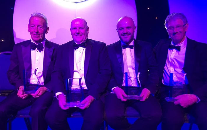Four In A Row: Back To Back TCS&D Award Wins For Gray & Adams.