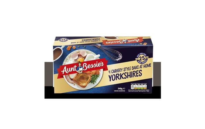 Aunt Bessie's Expands Bake At Home Range With Carvery Style Yorkshires.