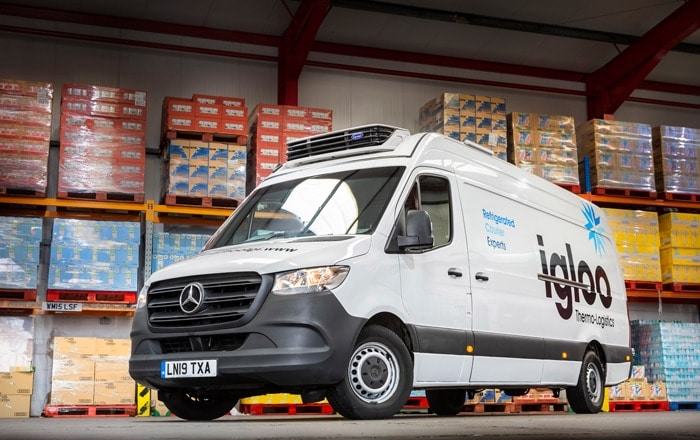 Ryder Helps Igloo Thermo-Logistics Deliver Most Important Meal Of The Day To School Children.