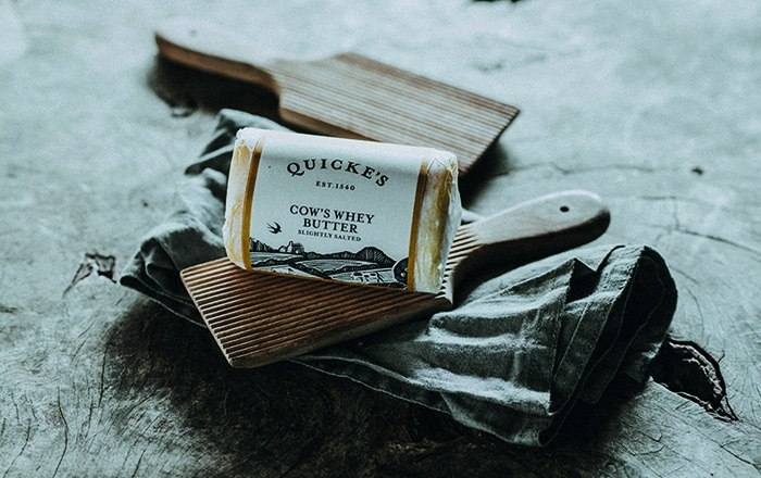 Whey To Go! Quicke's Whey Butter Now Available For Nationwide Delivery,