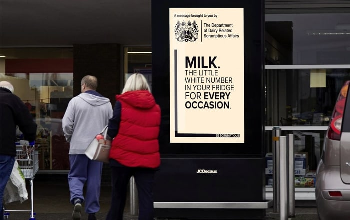 Dairy 'Department' Returns With Its Focus On Great Taste.
